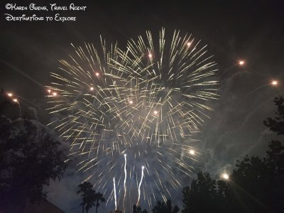 Disney studios fireworks